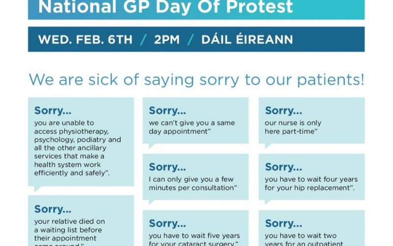 Healthcare Crisis: GPs to protest outside Dáil as unrest escalates